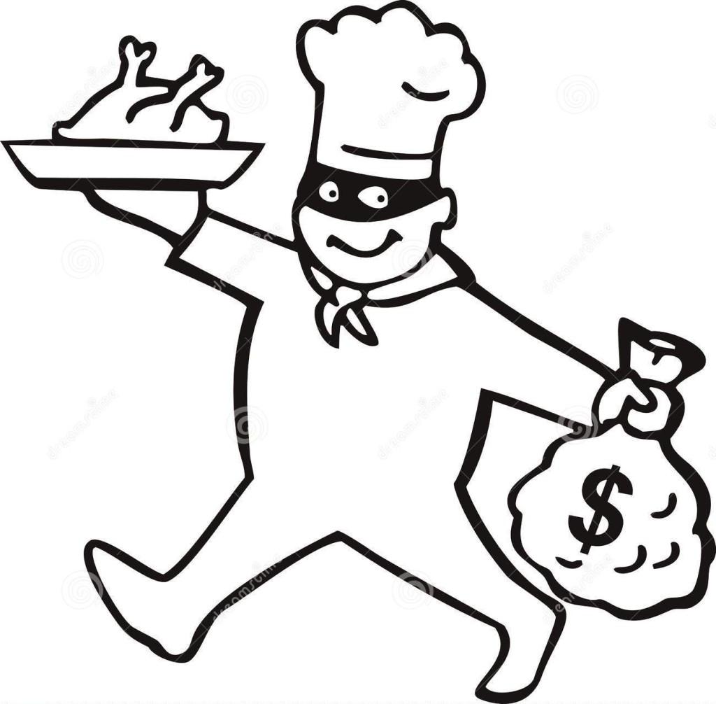 Jak oszukuje personel w restauracji?
